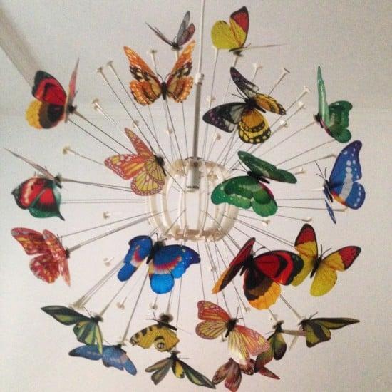ikea magnetic maskros butterflies