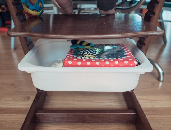 Trip Trap Stoel : Stokke tripp trapp high chair with a cheap trofast storage hack