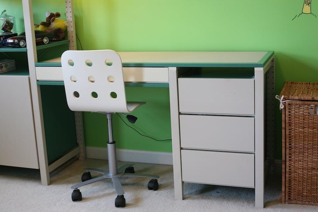 Ivar Desk Adaptation Ikea Hackers