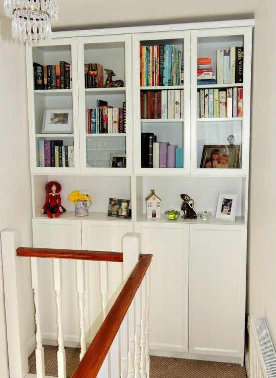 Hack version using cut down Oxberg glass doors with added cornice. [1]