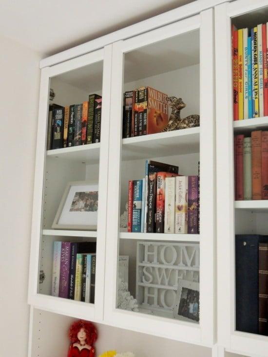 How To Make The Almost Extinct 97x40cm Oxberg Glass Doors Ikea Bookshelf