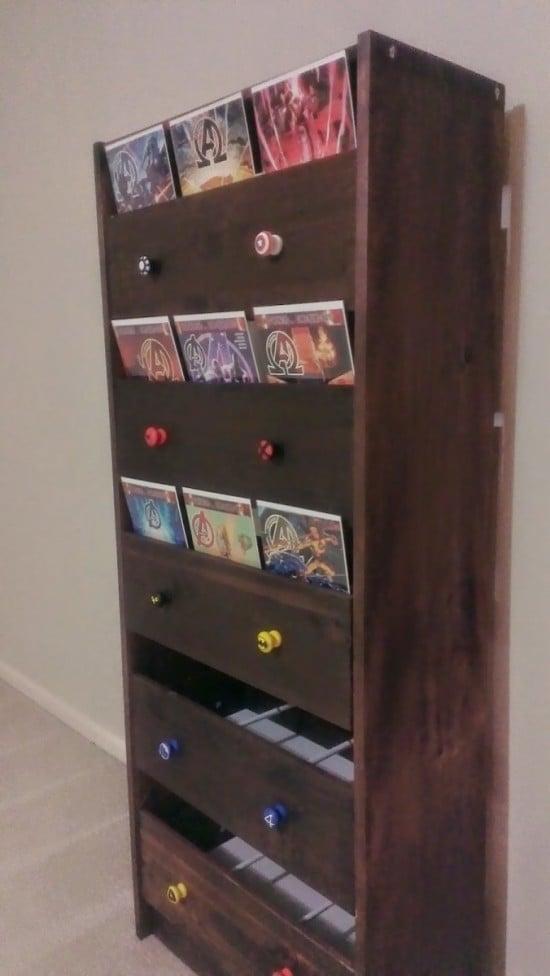 Comic Book Storage Solution