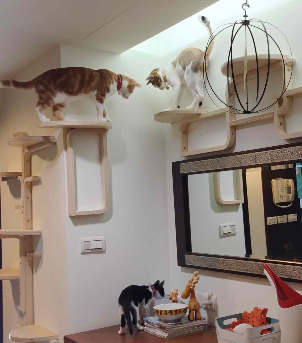 Guest Bathroom Design Ideas Cat Tree By Frosta X Ikea Hackers Ikea Hackers