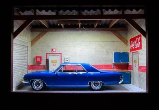 Mini garage diorama 1