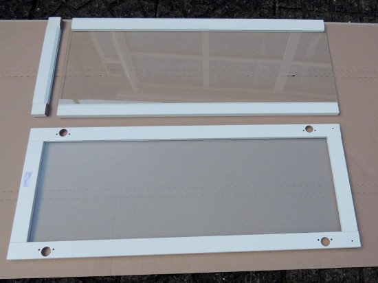 How To: Make The (almost) Extinct 97x40cm Oxberg Glass Doors   IKEA Hackers