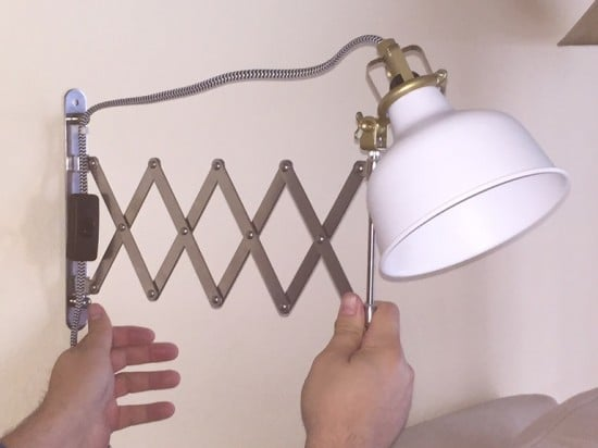IKEA RANARP Scissor Industrial Lamp