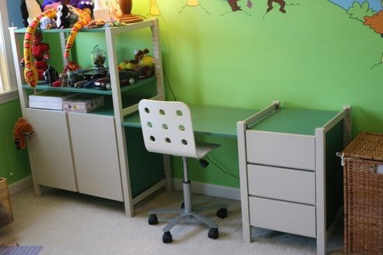 ivar desk adaptation ikea hackers ikea hackers. Black Bedroom Furniture Sets. Home Design Ideas