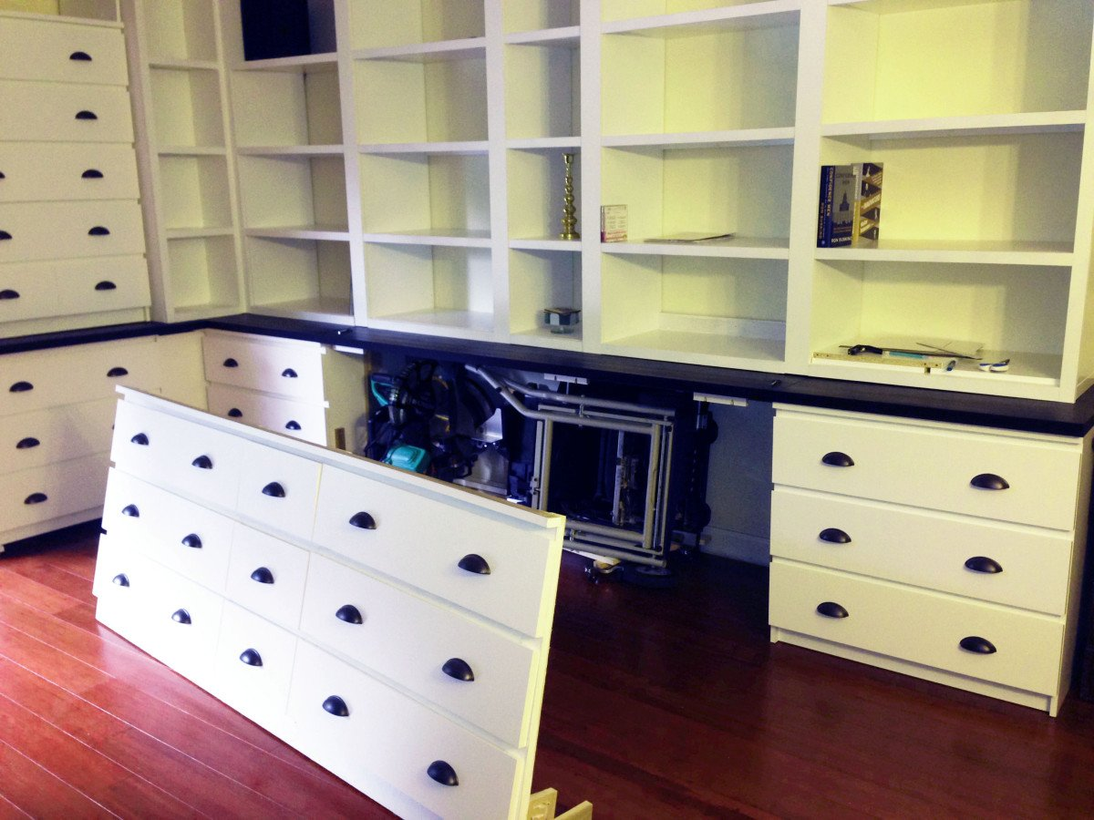 Not Built In Ikea Cabinets Ikea Hackers