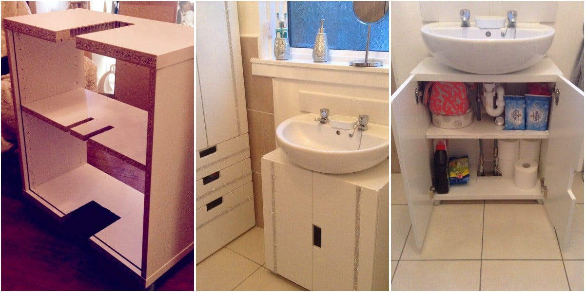 Stuva Bathroom Hack Ikea Hackers Ikea Hackers