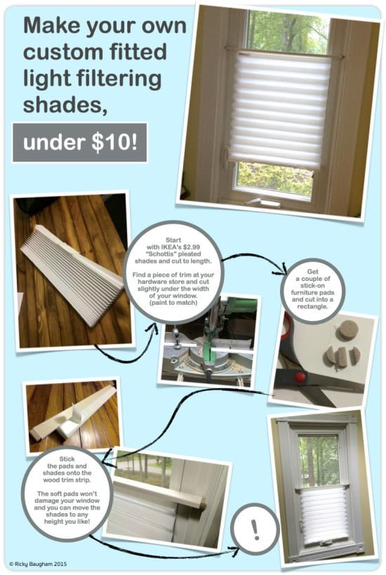 IKEA schottis privacy blinds