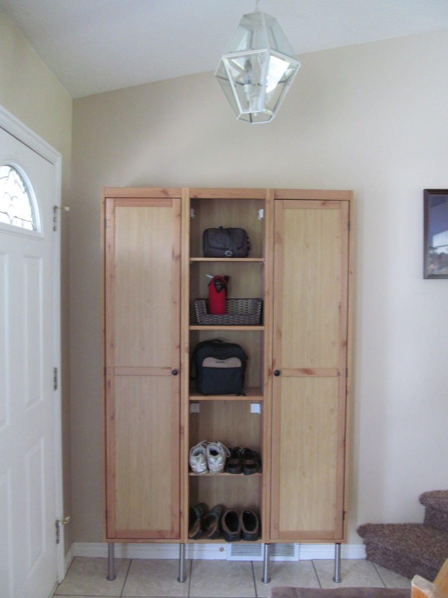 Entryway Lockers Unique Entryway Cabinet With Planning A
