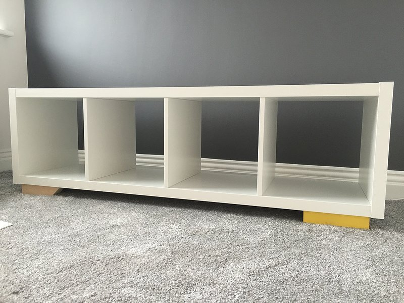 kallax retro console display ikea hackers ikea hackers. Black Bedroom Furniture Sets. Home Design Ideas