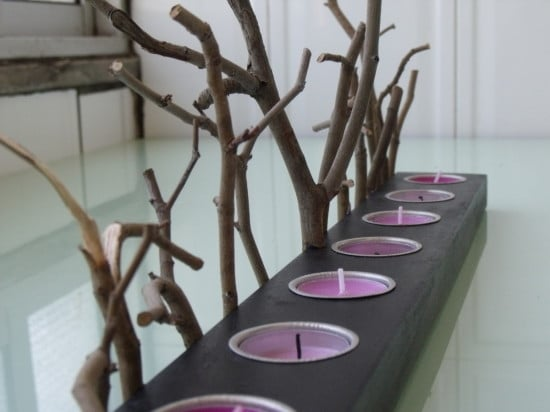 HÅLLARE Candle forest | IKEA Hackers