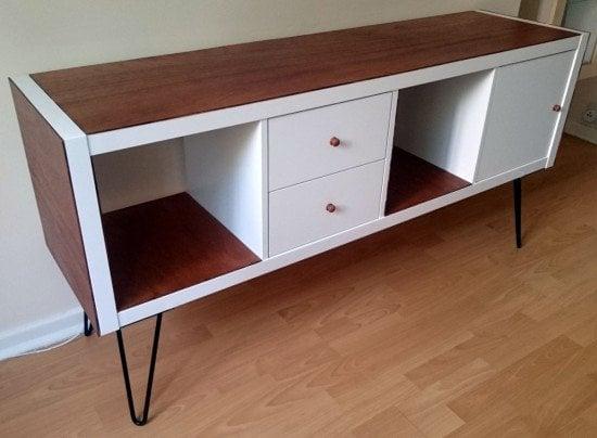 ikea kallax sideboard hack ikea hackers. Black Bedroom Furniture Sets. Home Design Ideas