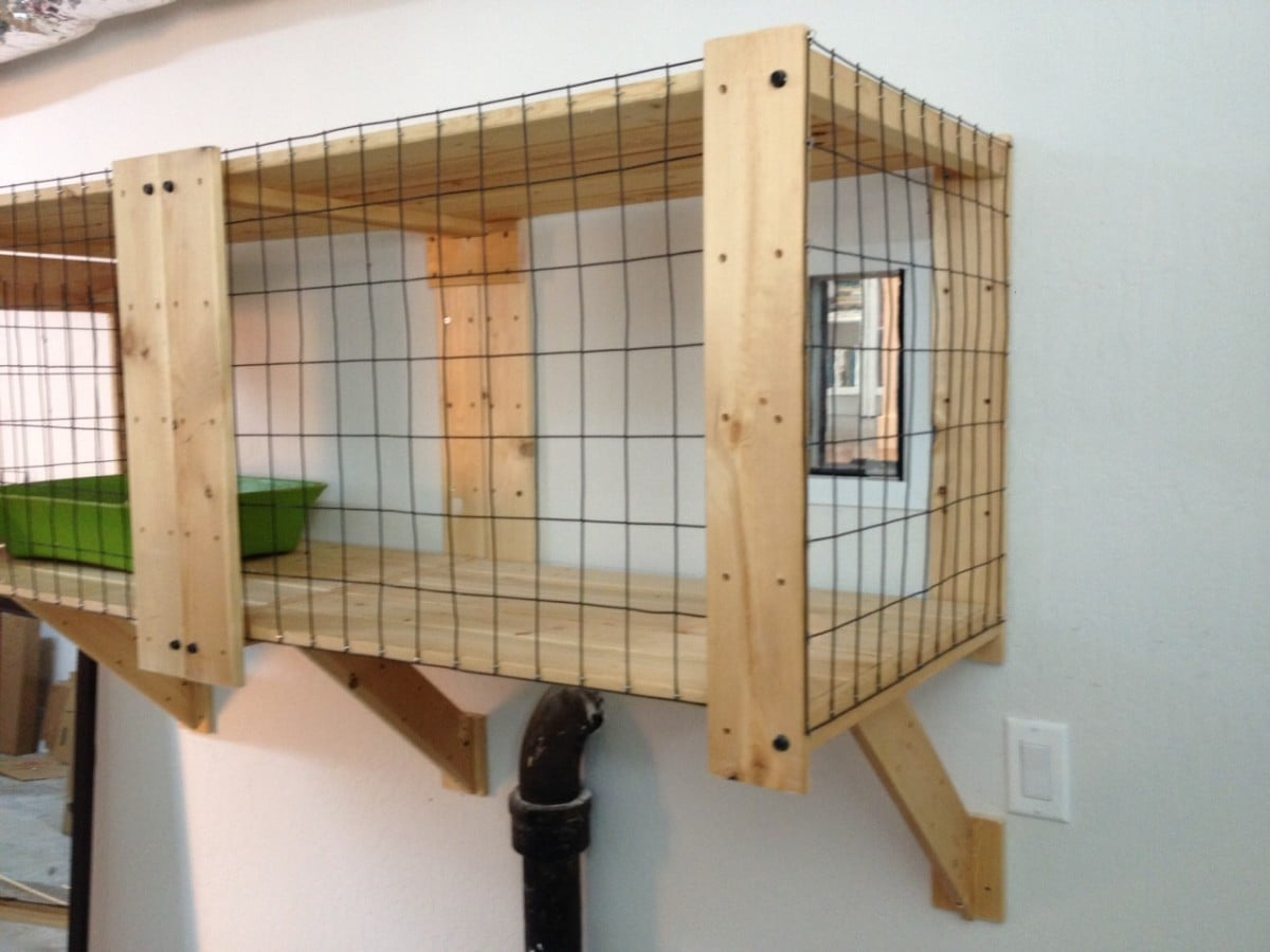 Ikea gorm litter box enclosure hack   ikea hackers   ikea hackers