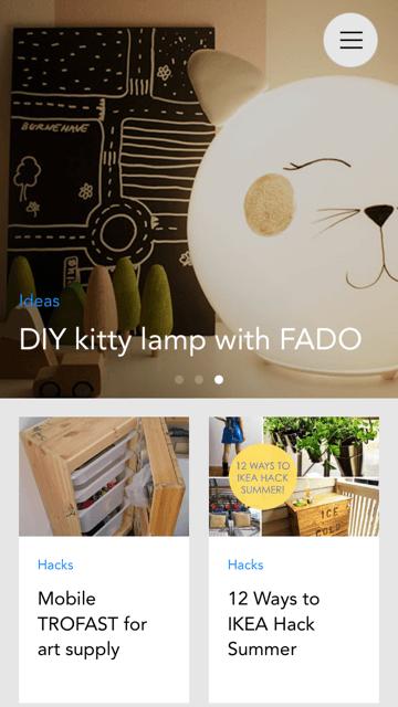 IKEA Hackers mobile app | IKEA Hackers