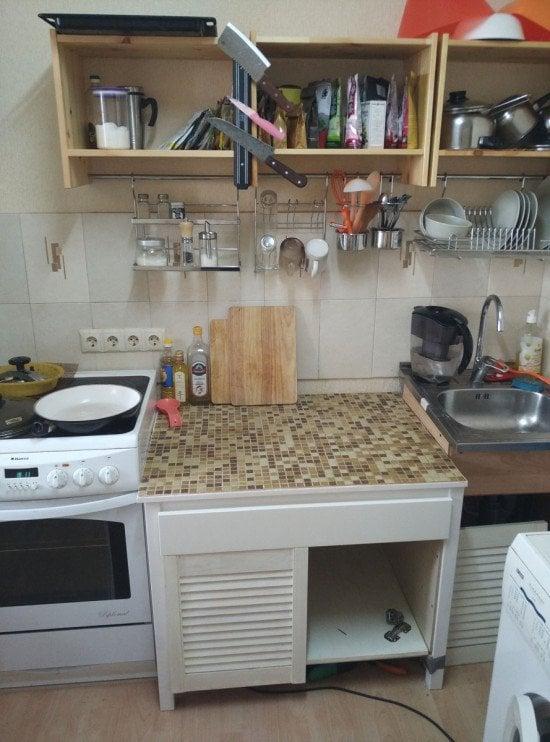 Small and cheap RAST kitchen | IKEA Hackers