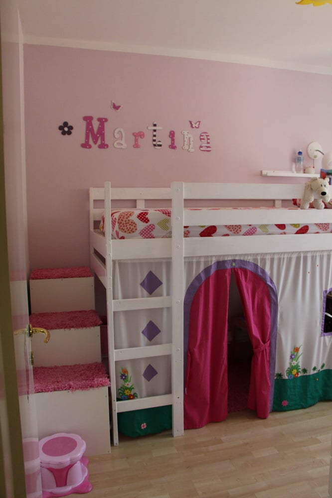 MYDAL Loftbed With Play Area For Girls Room IKEA