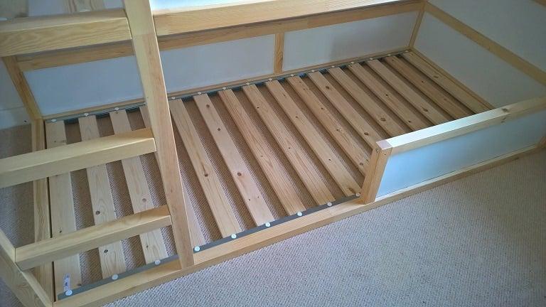 star wars kura bunk bed hack ikea hackers - Ikea Bunk Bed