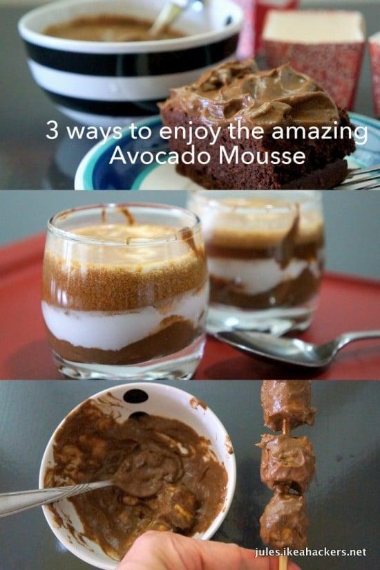 3 ways to enjoy Avocado Mousse | JULES