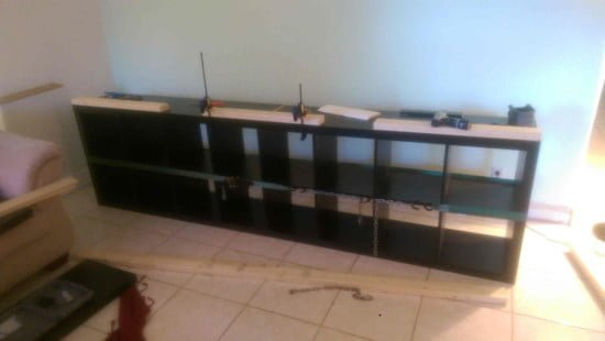 Built-in EXPEDIT entertainment center - chain