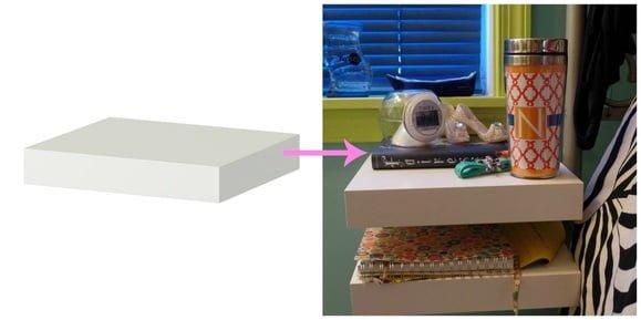 Simple LACK nightstand IKEA Hackers