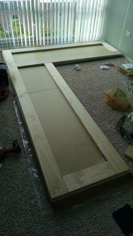 Reinforce with pine boards   IKEA Hackers