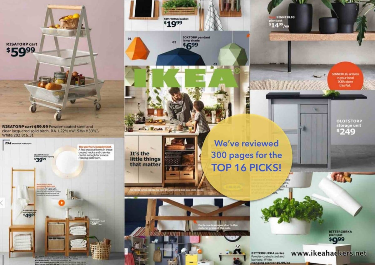 IKEA Catalog 2016 Top 16 Picks