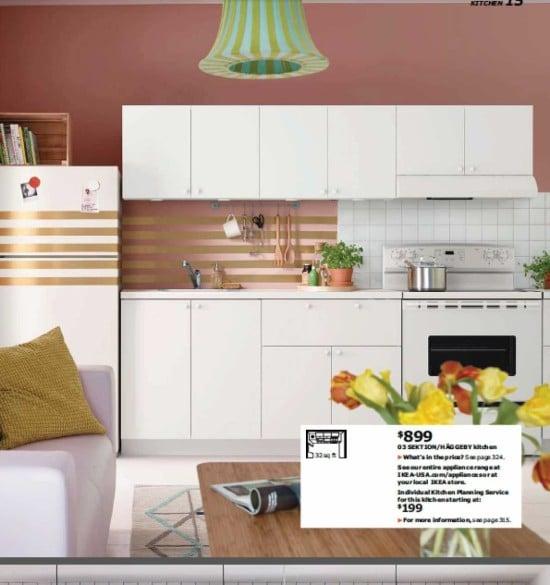 IKEA Catalog 2016 kitchen set