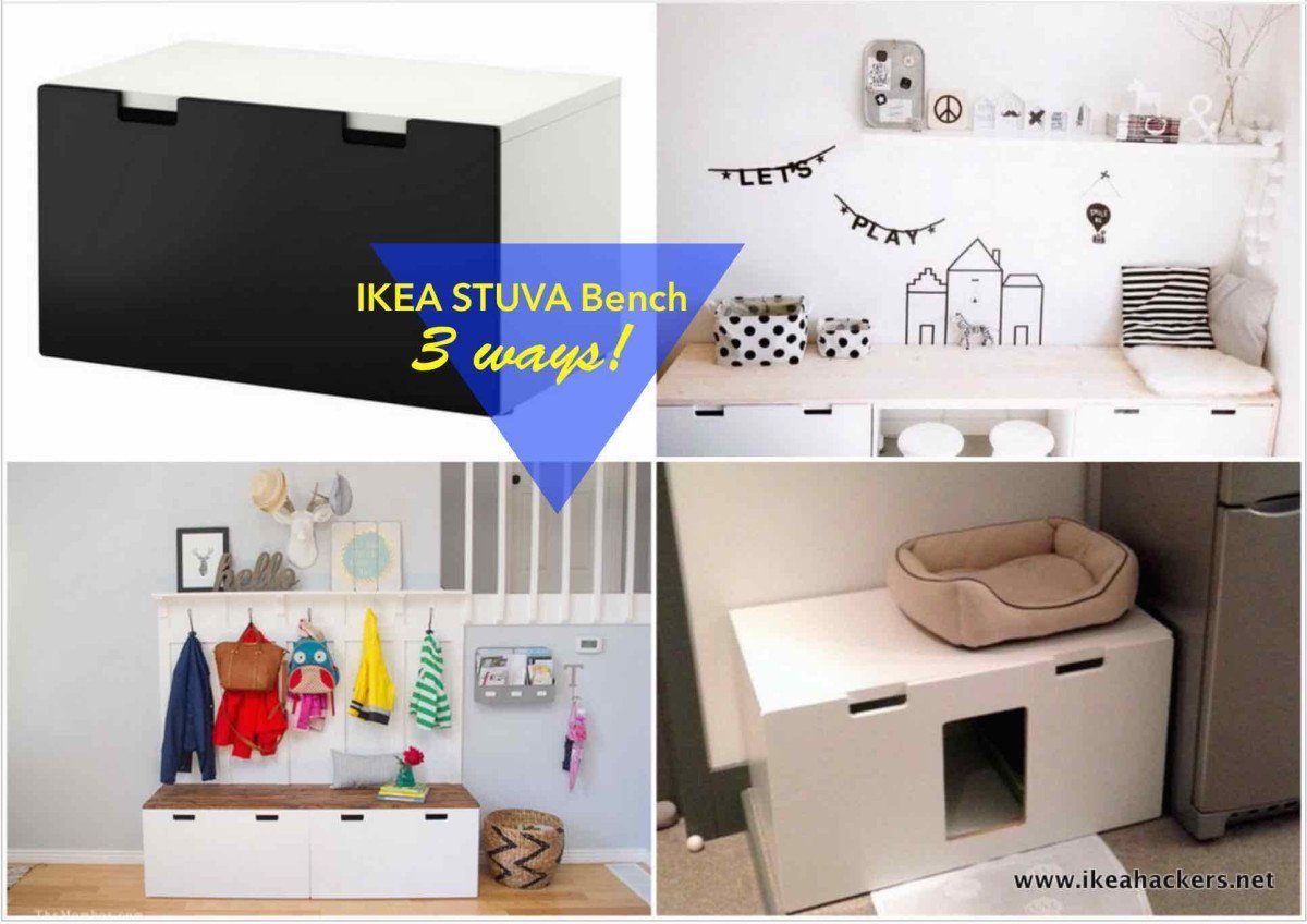 Bedroom Ideas Ikea Ikea Stuva Bench 1 Item 3 Ways Ikea Hackers