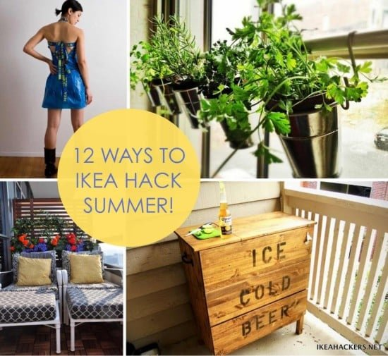 12 Ways to IKEA Hack Summer | IKEA Hackers