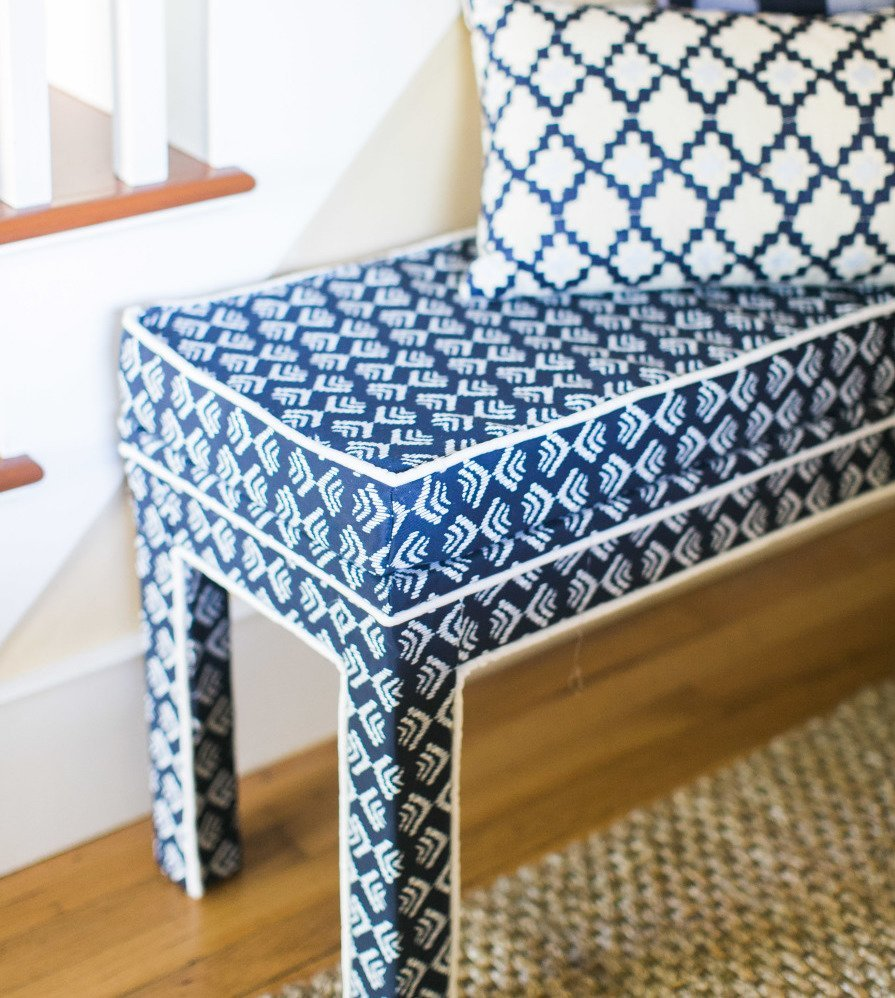 Bjursta Upgrade To Luxe Upholstered Bench Ikea Hackers