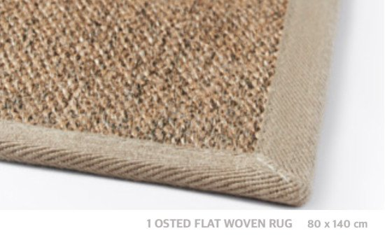 OSTED flatwoven rug