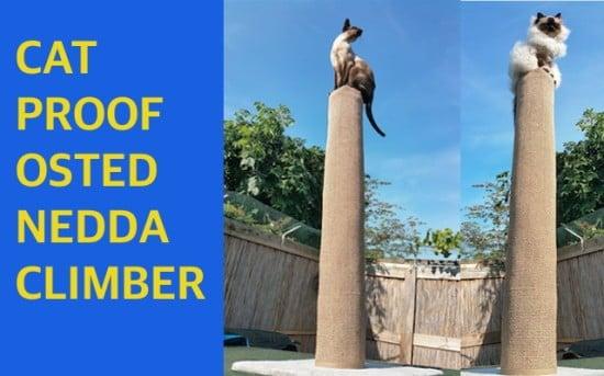 Osted Nedda Cat Climber   IKEA Hackers