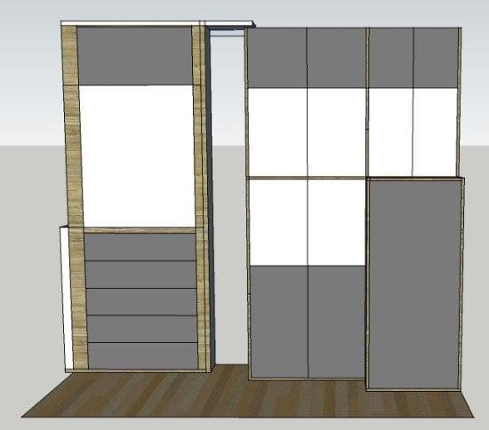 IKEA METOD cabinets - SketchUp plan