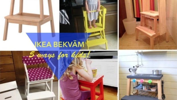 5 Fun Ways To Use The Bekvam Step Stool For Kids Ikea