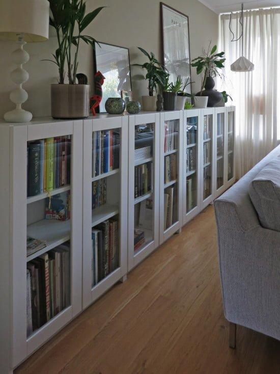 BILLY Bookcases With GRYTNÄS Glass Doors IKEA Hackers IKEA Hackers - Ikea billy bookshelves