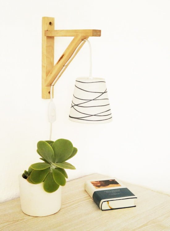 DIY Gallows lamp