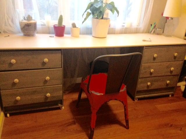 Rast Dresser Desk Ikea Hackers