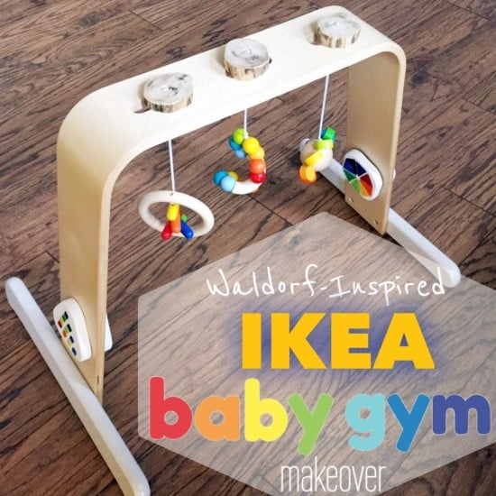waldorf inspired baby gym