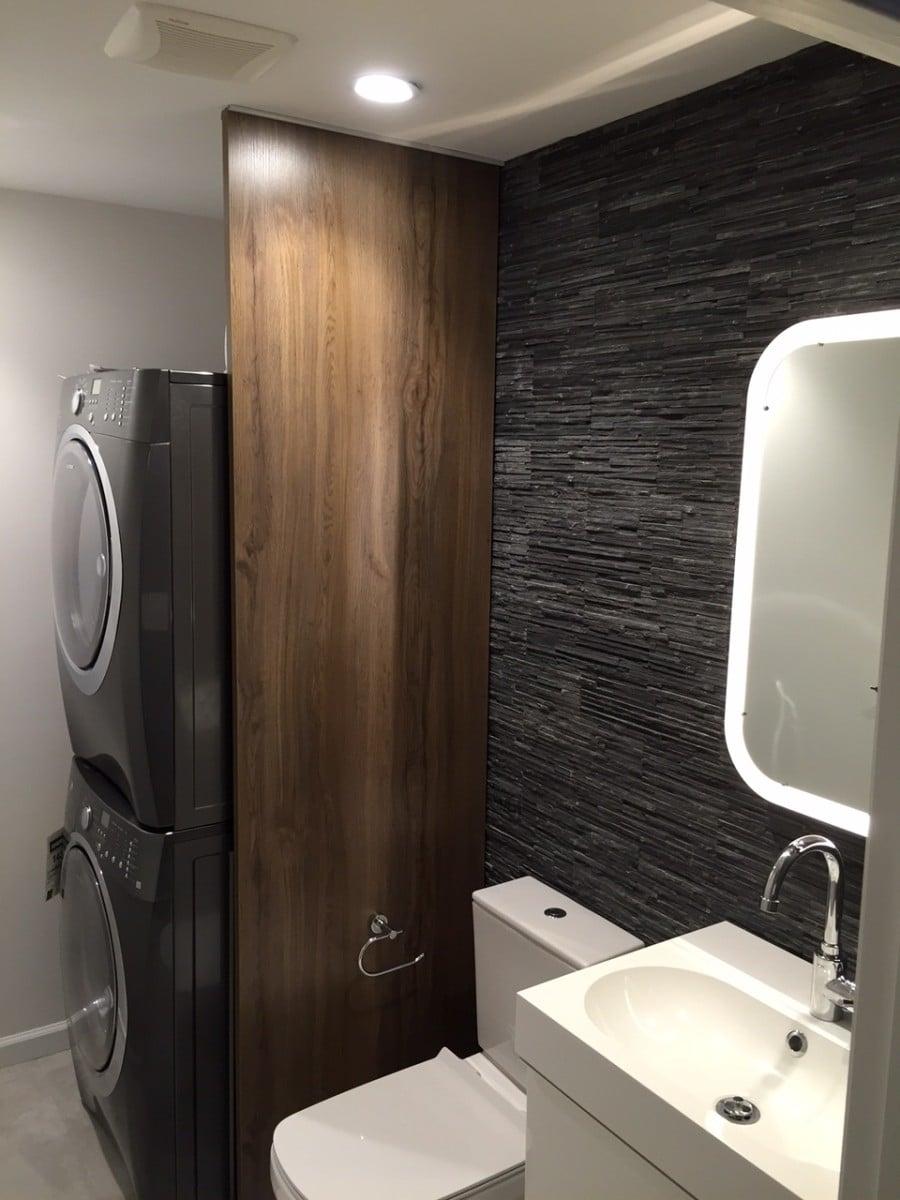 Ekbacken Bathroom Laundry Room Divider Ikea Hackers