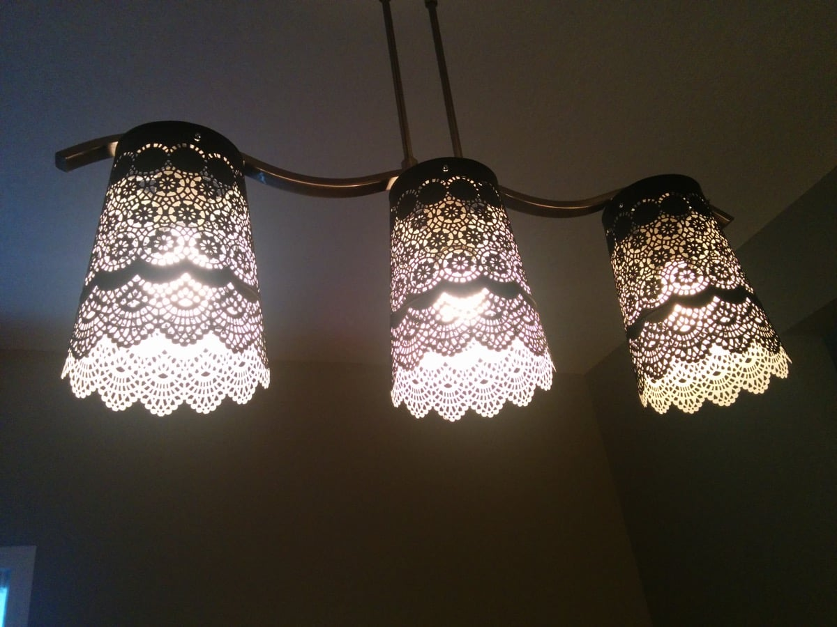 Luxury Pretty Lacey Lamp Shade