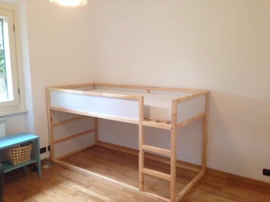 IKEA Kura bunk bed - before