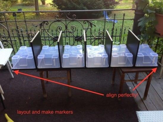 EXPEDIT SAMLA drawers - process