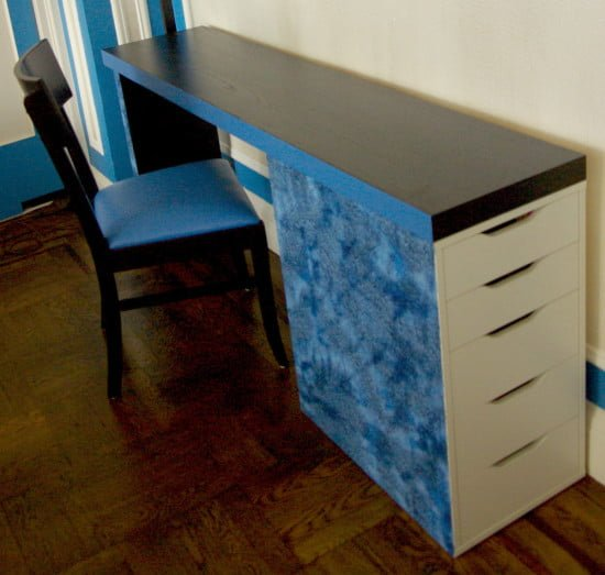 MALM VIKA ALEX Slim Desk | IKEA Hackers