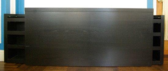 MALM headboard - before