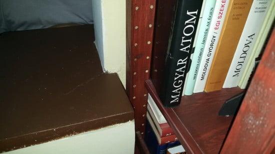 Exact size IVAR shelf system