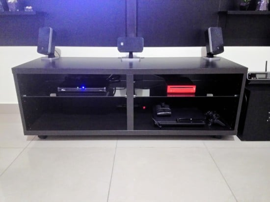 BESTA unit to house media equipment