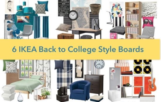 IKEA Back to college styleboards