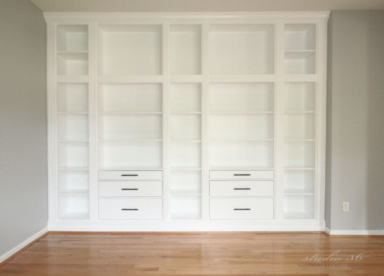 HEMNES Custom Built-in Storage Unit